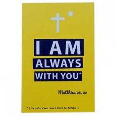 Lot de 10 images I am always with you - Tante menoue