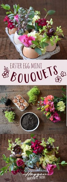 Adorn your table with everything the season has to offer—bright blooms and farm fresh eggs