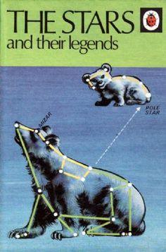 THE STARS & THEIR LEGENDS Vintage Ladybird Book Series 733