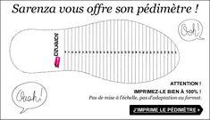 Pointure de Chaussures : Guide et conversions pour connaître sa pointure de chaussures SARENZA
