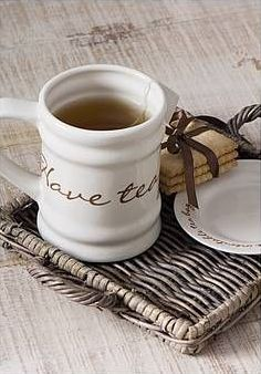 Have tea with me