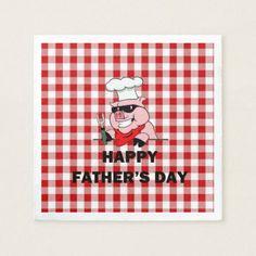 Backyard Shenanigans Fathers Day Party Paper Napk Napkin