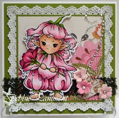 Aurora Wings Challenge/ Card by Debbie Pamment