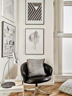 Diseño y calidez en blanco y negro | Decorar tu casa es facilisimo.com