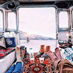 Winter goals. ❄️
