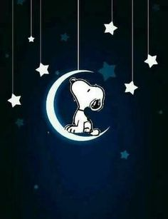 #Snoopy watch at the #Moon