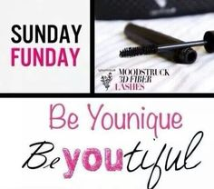 Sunday Funday! Younique 3D fiber lash mascara! https://www.youniqueproducts.com/christinalynnkelly