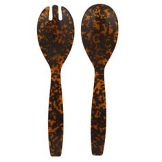 Savannah Tortoise Salad Server Set from Sabre