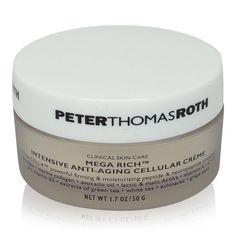 Peter Thomas Roth Mega Rich Intensive Anti-Aging Cellular Creme 1.7 oz *READ* #PeterThomasRoth