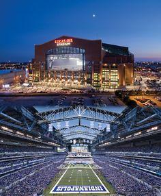 Lucas Oil Stadium!  Go Colts!!!