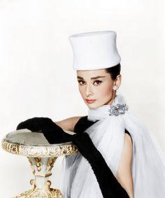 Audrey Hepburn, in June Marsh hat. The Everett Collection Reel Art Press