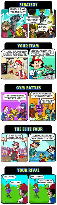 Pokemon Games VS Anime
