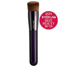 Finally, a foundation brush for use with all formulations - liquid, cream or powder.