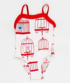 Birdcage swimsuit