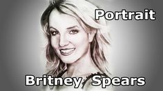 Baby One More Time. Portrait  Britney Spears