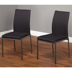 Simple Living Harrison Dining Chairs (Set of 2) - black or navy $137