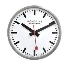 Mondaine (the swiss train station clock)