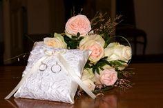 svatební polštářek,pro dceru