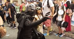 Adam Savage Went Incognito As Kylo Ren At San Diego Comic Con