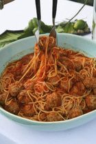 crockpot-spaghetti and meatballs and other great crockpot recipes!