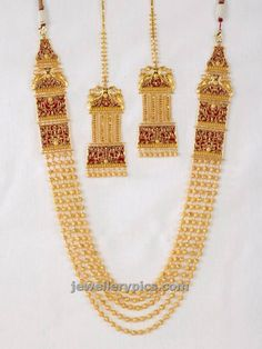 Amazing gundla haram by Gaja - Latest Jewellery Designs