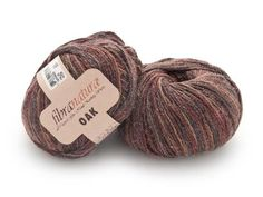 """Fibra Natura Oak in Tapenade is a warm combination of earthy browns, greys and reds. It is also a really cool blend of superwash merino wool, silk and linen, giving it a beautiful tweed fabric feel and making it an ideal lightweight yarn for summer! Click the image for a closer look at this great yarn and get yours for 31% off! Click """"Repin"""" if you are excited about this yarn! #knitting #yarndeal"""