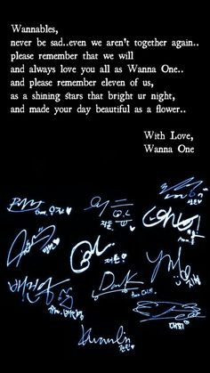We (Wannables) will Never forget you. Never Forget You, Always Love You, Love You All, Ong Seung Woo, Drama School, You Are My Life, Artist Quotes, Ha Sungwoon, Forever Love