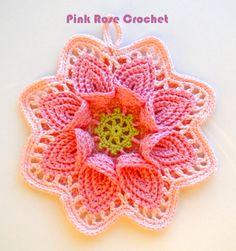 ao with <3 / Pega+Panelas+Flor+de+Croche.png (450×480)