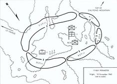 Ia Drang X-ray perimeter situation november - Battle of Ia Drang - Wikipedia