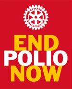 Campanha de erradicação da pólio no mundo.