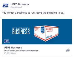 Usps facebook