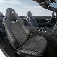 A sunny day is even more glorious in a #MaseratiGranCabrio #GranCabrio #Maserati