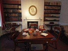 The Brontës' living room
