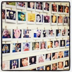 A great seating plan using photos of all the guests - https://twitter.com/Vintage_hire/status/239390439680122880/photo/1