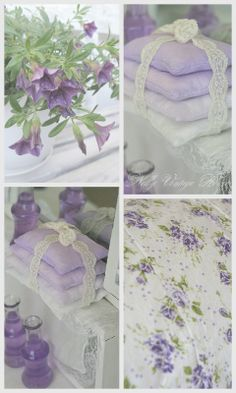 The hushed color of pale lilac. TG. nelly vintage home:
