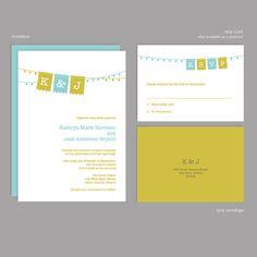 Jubilee Wedding Invitation Sample