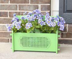 Magazine Holder Flower Planter
