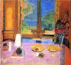 Dining Room on the Garden - Pierre Bonnard