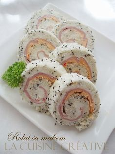 Hladna predjela i salate Yummy Appetizers, Appetizers For Party, Appetizer Recipes, Dessert Recipes, Bakery Recipes, Cooking Recipes, Yogurt Dessert, Best Party Food, Croatian Recipes