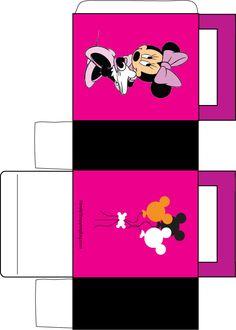 Minnie Mouse Box Favor Box