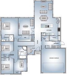 New house plans, dream house plans, house floor plans, my dream House Layout Plans, Dream House Plans, House Layouts, House Floor Plans, House Plans South Africa, Br House, Pool House Designs, House Construction Plan, Modern Bungalow House