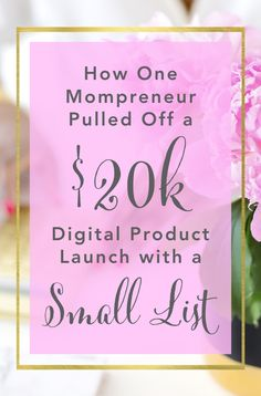 How Kara Fidd Pulled Off a Digital Product Launch with a Small List - Brilliant Business Moms Best Blogging Sites, Blogging For Beginners, Last Day Email, Successful Online Businesses, Pull Off, How To Start A Blog, Product Launch, Kara, Email Marketing