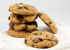 Gluten-Free Chocolate Chip Cookies Recipe in a Blendtec or Vitamix blender Best Choc Chip Cookies, Secret Chocolate Chip Cookie Recipe, Gluten Free Chocolate Chip Cookies, Pumpkin Chocolate Chips, Baking Recipes, Cookie Recipes, Dessert Recipes, Desserts, Protein Cake