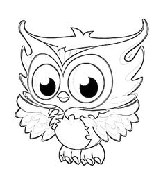 cute printable owl coloring pages for kids enjoy coloring