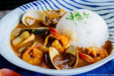 be healthy-page: Pressure Cooker Japanese Seafood Curry