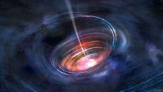 Les trous noirs sont des régions fermées de l'espace-temps dont rien, pas même la lumière, ne peut sortir. Contrairement à ce que l'ont croit souvent, ce n'est pas la présence d'une singularité...