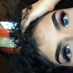 Brows and big eyes