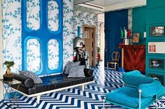 Fiat Heir Lapo Elkann Opens The Doors To His Provocative Milan Penthouse Photos | Architectural Digest