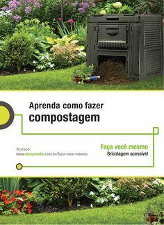 Reutilizar e renovar são ideias que jamais saem de moda e servem para praticamente tudo. Inclusive compostos orgânicos. Quer ver como fazer eles virarem adubo? Você mesmo pode fazer! http://leroy.co/1Ed9FIX