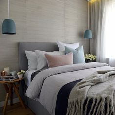 D & D's bedroom on the block. Photo source - Triangle Interiors